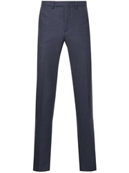 Raf Simons Straight Trousers Blue