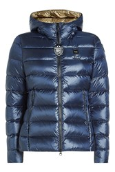 Blauer Giubboni Quilted Down Jacket Blue