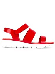 Moncler 'Michele' Sandals Red