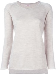 Liska Raglan Sleeve Sweater Nude And Neutrals