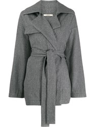 Odeeh Belted Oversized Coat 60