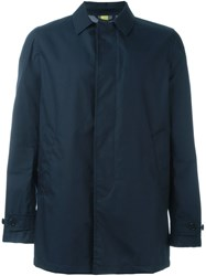 Aspesi 'Alfetta' Raincoat Blue