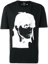 Calvin Klein 205W39nyc Face Print T Shirt Black