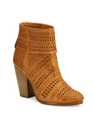 Rag And Bone Classic Newbury Woven Leather Booties Natural Ivory