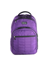 Kenneth Cole Reaction Wreck Double Gusset 16 Inch Computer Backpack Purple