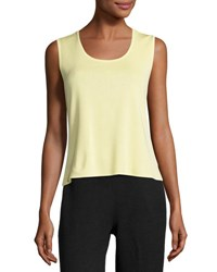 Ming Wang Scoop Neck Knit Tank Suo