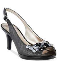 Karen Scott Branca Slingback Pumps Only At Macy's Women's Shoes Black