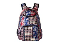 Roxy Shadow Swell Backpack Marshmallow Swim Vertical Flowers Backpack Bags Multi