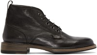 Rag And Bone Black Leather Spencer Boots