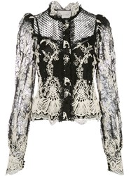 Alexis Embroidred Lace Blouse 60