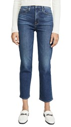 Good American Straight Jeans Blue358