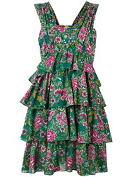 N 21 No21 Flower Print Dress Green