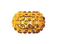 Foscarini Caboche Wall Light Small 12.2 In Width Clear Yellow Transparent