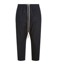 Rick Owens Drop Crotch Trousers Black