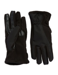 Isotoner Smartouch Gloves Black