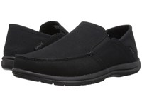 Crocs Santa Cruz Convertible Slip On Black Black Slip On Shoes