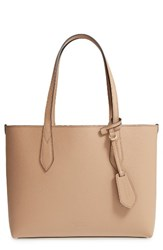 Burberry Small Lavenby Reversible Leather Tote