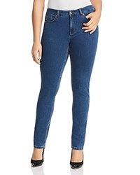 Marina Rinaldi X Ashley Graham Idraste Slim Leg Jeans Ski Blue