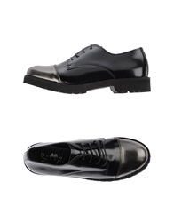 Scoop Lace Up Shoes Black