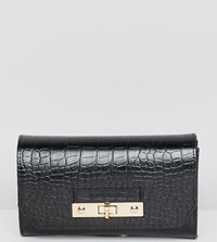 River Island Belt Bag In Black