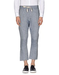 Alice San Diego Trousers Casual Trousers Men Blue