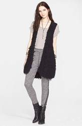 Women's Free People Faux Fur Open Vest
