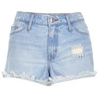 River Island Womens Light Blue Ruby Denim Shorts