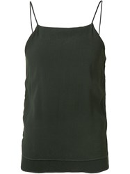 321 Spaghetti Strap Tank Top Green