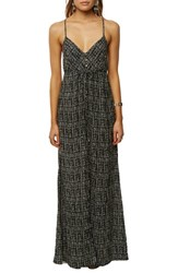 O'neill Leda Maxi Dress Black