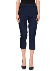 Emporio Armani Ea7 Trousers 3 4 Length Trousers Women Dark Blue