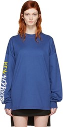 Alyx Blue New Happiness Long Sleeve T Shirt