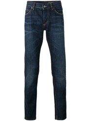 Dolce And Gabbana Straight Jeans Blue