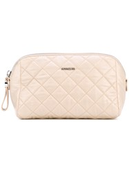 Moncler Quilted Make Up Bag Women Nylon One Size