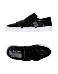 George J. Love Low Tops And Trainers Black
