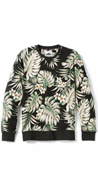Penfield Flores Pullover Black Palm
