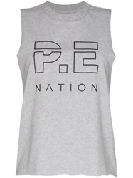 P.E Nation Throw In The Towel Vest Grey