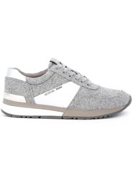 Michael Michael Kors Panelled Sneakers Grey