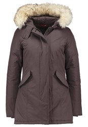 Canadian Classics Fundy Bay Down Coat Fan Brown