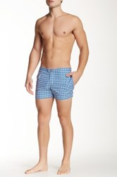 Parke And Ronen 3' Lido Print Swim Trunk Multi