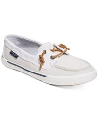 Sperry Women's Quest Rhythm Boat Shoes Women's Shoes White