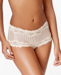Lunaire Barbados Animal Lace Trim Boyshort 15232