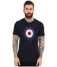 Ben Sherman Short Sleeve Basic Target Tee Mb12872 Navy Blazer Men's T Shirt