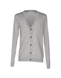 Selected Homme Cardigans Light Grey