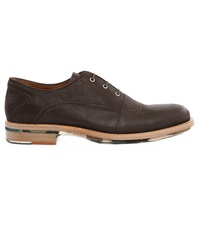Paul And Joe Strike Brown Grained Leather Multi Co Gumsole Brogues