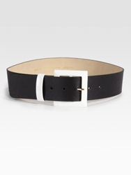 Kate Spade Key Pieces Wide Leather Belt Tan