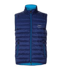 Hackett Aston Martin Down Gilet Male Navy