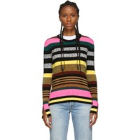 Kenzo Multicolor Striped Crewneck Sweater