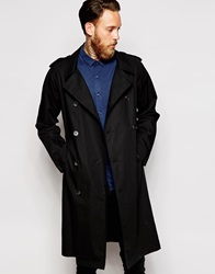 Asos Trench Coat Black