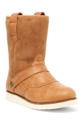 Australia Luxe Collective Yolo Genuine Sheepskin And Shearling Lining Boot Brown