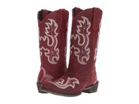 Roper Scrollin Red Cowboy Boots